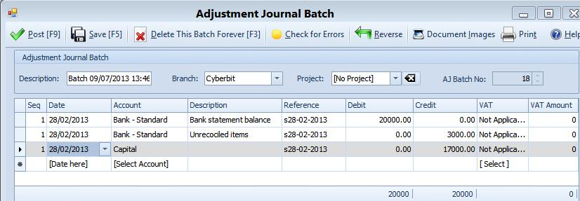 how to change bank beginning balance in quickbooks